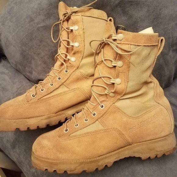745366e89 Belleville Shoes   Vibrambellville Military Combat Boots   Poshmark